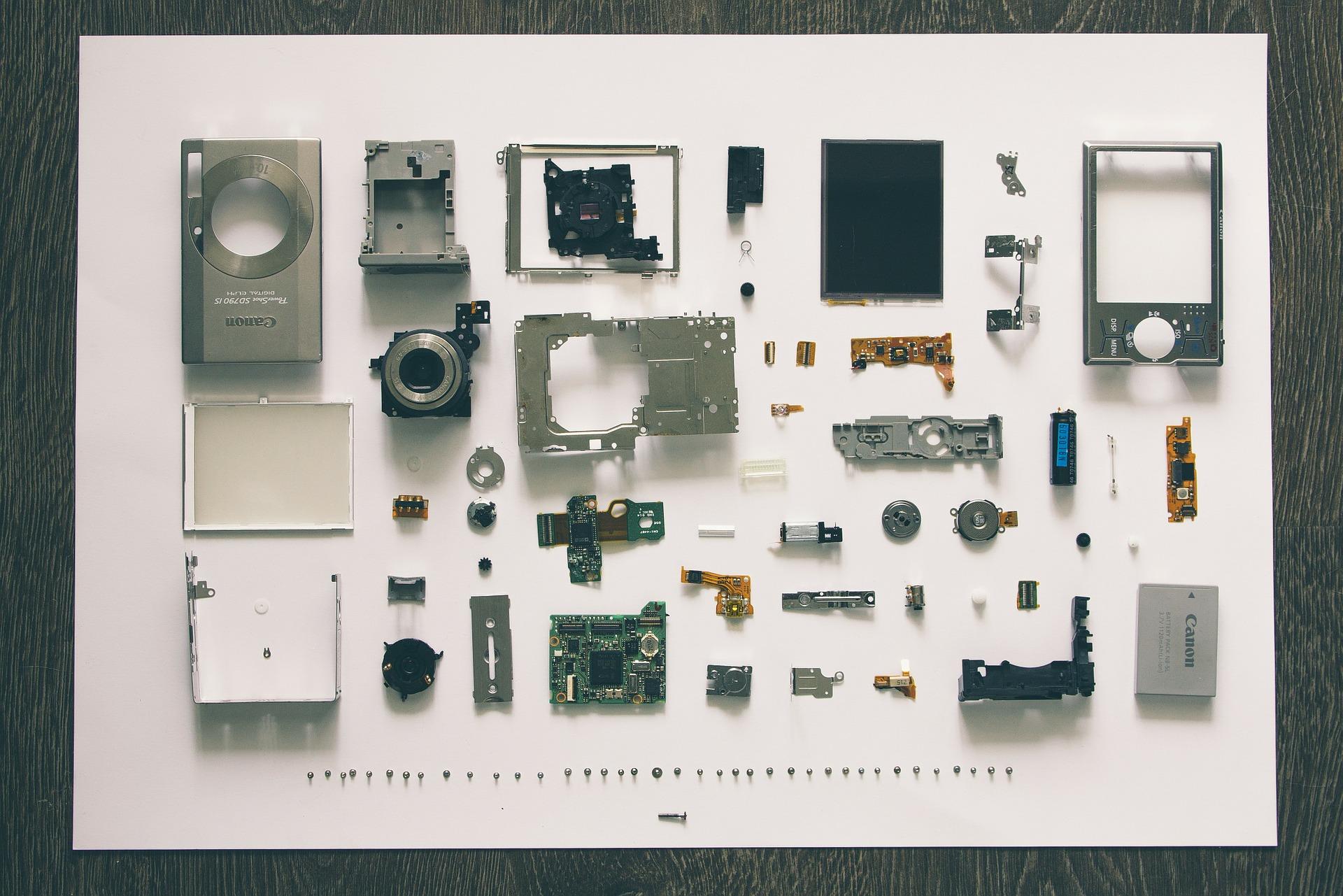 Negocio de componentes electrónicos y electrodomésticos